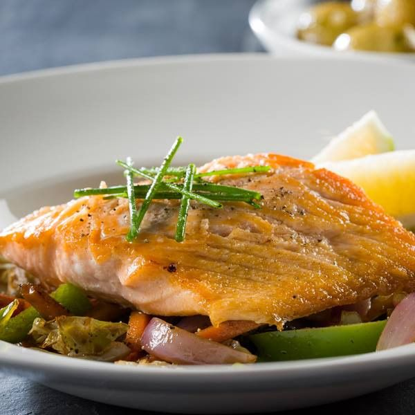 Fish at The Hussar Grill Franschhoek