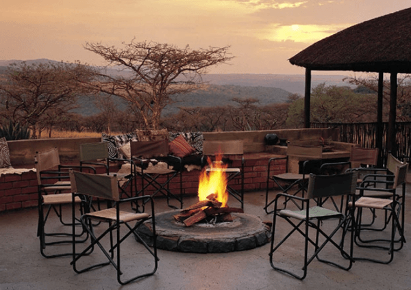 Fire pit with Zulu-Safari Motorcycle Adventure Tours