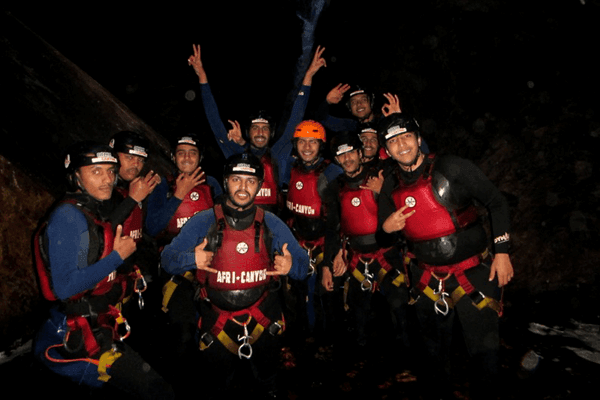 Team building with Africanyon River Adventures