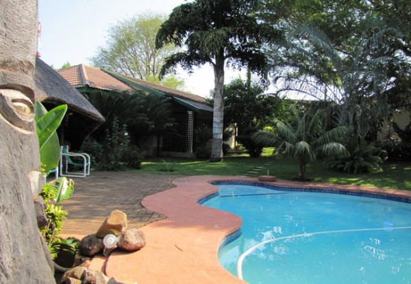 Swimming pool at Hluhluwe Guest House & Safaris