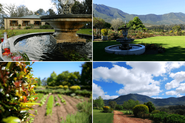 Gardens at ArendsRus Country Lodge