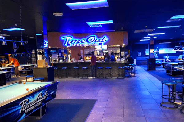 TimeOut Sports Bar in Midrand